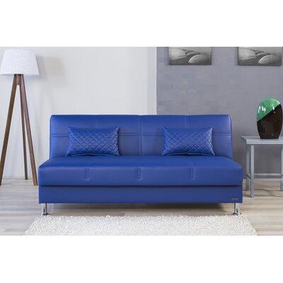Zen Eco Rest Convertible Sofa Finish: Navy Blue