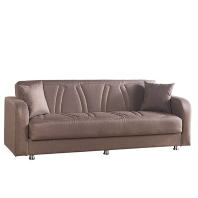 Joker Sleeper Sofa Upholstery: Brown