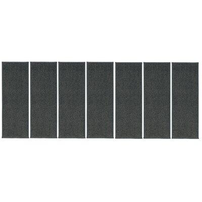 Rhoda Non-Slip Gray Stair Tread Quantity: 7