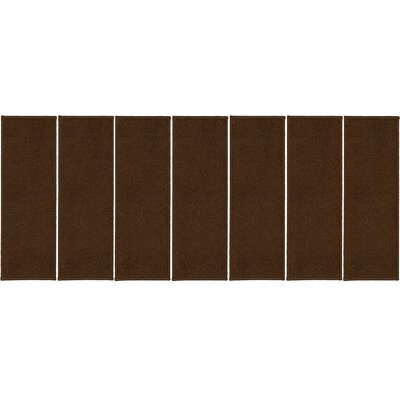 Rhoda Non-Slip Brown Stair Tread Quantity: 7