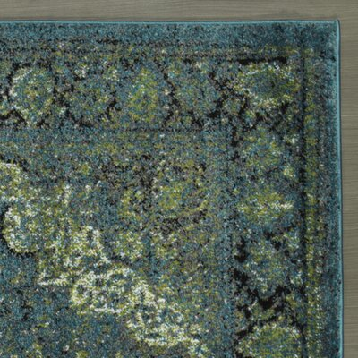 Adrianne Blue/Green Area Rug
