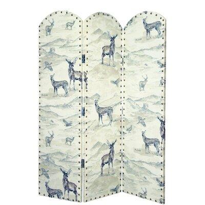 3-tlg. Raumteiler Kenai Fjords 150 cm x 120 cm | Wohnzimmer > Regale > Raumteiler | AlpenHome