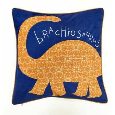 Alyson Dino Doodles Throw Pillow