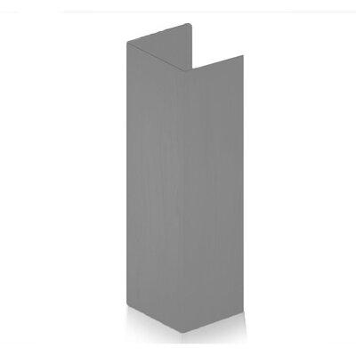 Wood Range Hood Chimney Extension Color: Gray 321UU-E