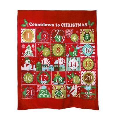Advent Calendar Throw