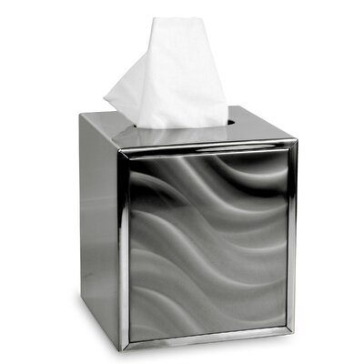 Moire Tissue Box Cover