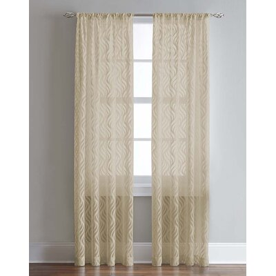 Lyric Single Curtain Panel