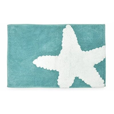 Holden Bath Rug Color: Aqua