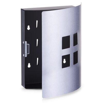 Schlüsselkasten 4 Quadrate | Flur & Diele > Schlüsselkästen | Silver | Zeller
