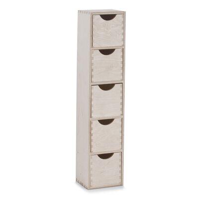 Aufbewahrungsbox aus Massivholz | Dekoration > Aufbewahrung und Ordnung > Kästchen | Beige | Zeller