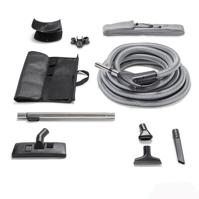 Garage Kit Hose and Tool Kit Fits All Central Vacuum Units image