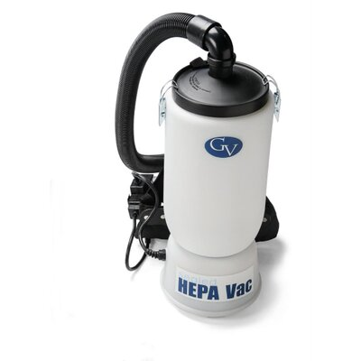 New 6 Quart HEPA BackPack Vacuum with Proffesional 1.5 Tool Kit Commercial Restaurant Industrial image