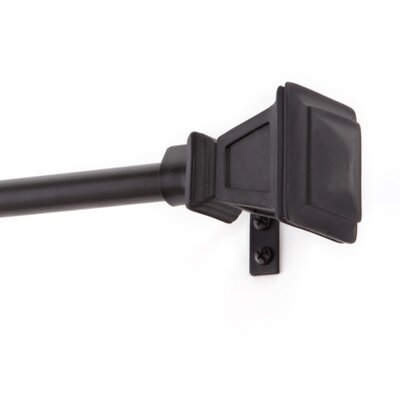 Seville Single Curtain Rod and Hardware Set 75795REM