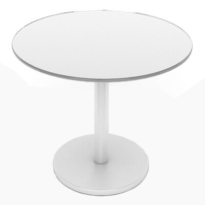 Glass End Table Finish: White