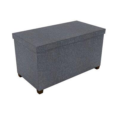 Storage Ottoman Upholstery: Dark Gray