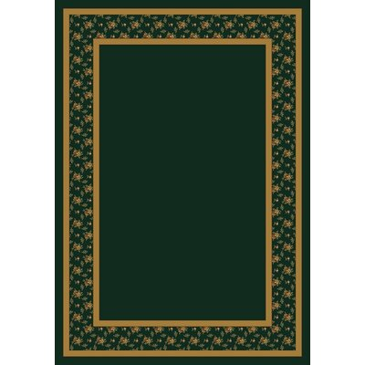 Design Center Emerald Garden Estate Area Rug Rug Size: Rectangle 54 x 78