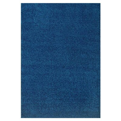 Modern Times Harmony Blue Jay Area Rug Rug Size: Rectangle 109 x 132