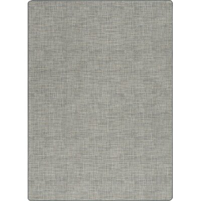 Imagine Broadcloth Chambray Area Rug Rug Size: Rectangle 78 x 109