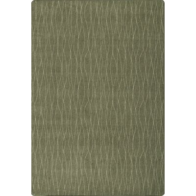 Imagine Flow Tapestry Green Area Rug Rug Size: 53 x 78