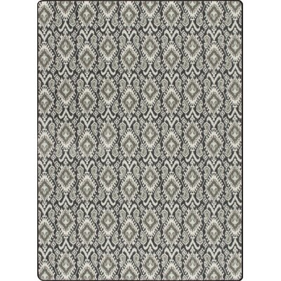 Imagine Crafted Graphite Area Rug Rug Size: 5'3