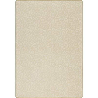 Imagine Lyrical Buttercup Area Rug Rug Size: Rectangle 78 x 109