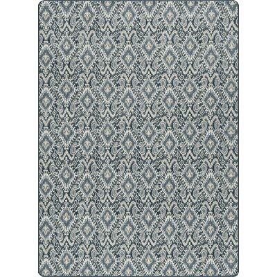 Imagine Crafted Indigo Area Rug Rug Size: Rectangle 53 x 78