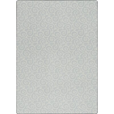 Imagine Lyrical Clear Sky Area Rug Rug Size: 53 x 78