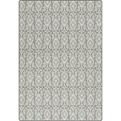 Imagine Crafted Moonstone Area Rug Rug Size: 53 x 78