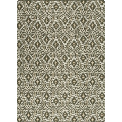 Imagine Crafted Olivewood Area Rug Rug Size: 53 x 78