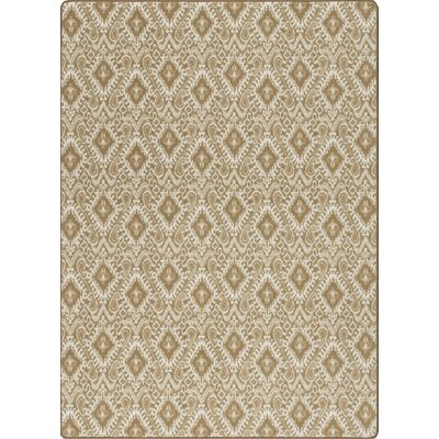 Imagine Crafted Sepia Area Rug Rug Size: 53 x 78