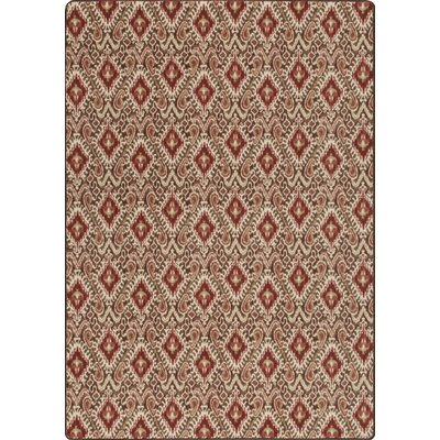 Imagine Crafted Tapestry Area Rug Rug Size: 78 x 109