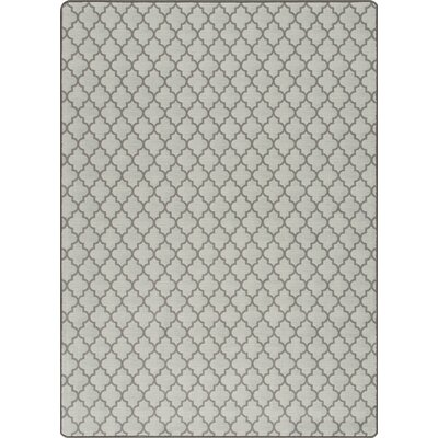 Imagine Essex Aged Silver Area Rug Rug Size: 53 x 78
