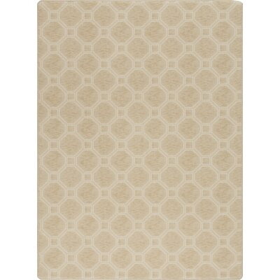Imagine Stonebridge Muslin Area Rug Rug Size: 53 x 78