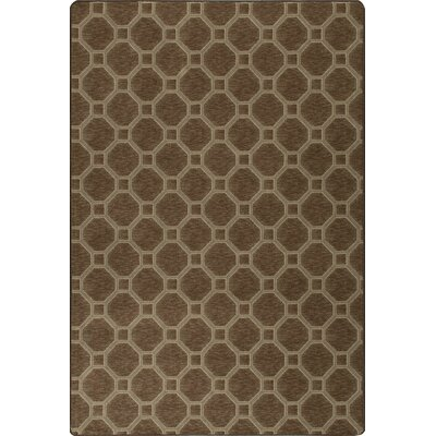 Imagine Stonebridge Woodridge Brown Area Rug Rug Size: 53 x 78