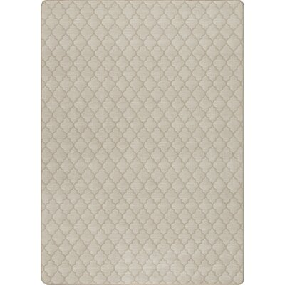 Imagine Essex Alabaster Area Rug Rug Size: Rectangle 53 x 78