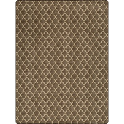Imagine Essex Espresso Area Rug Rug Size: 78 x 109