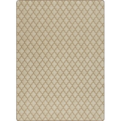 Imagine Essex Praline Area Rug Rug Size: 53 x 78