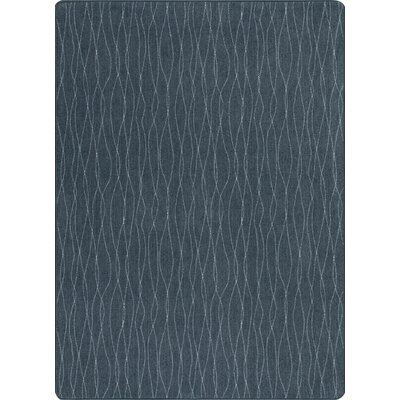 Imagine Flow Dark Lagoon Area Rug Rug Size: 5'3