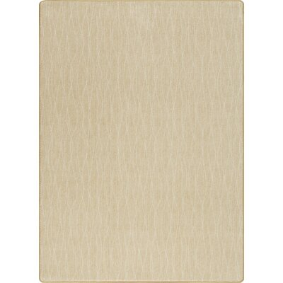 Imagine Flow Pampas Taupe Area Rug Rug Size: 53 x 78