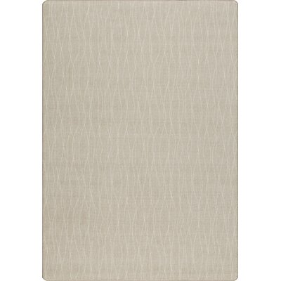 Imagine Flow Sand Dune Area Rug Rug Size: 78 x 109