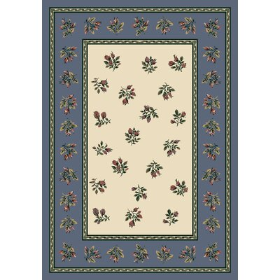 Signature Francesca Lapis Area Rug Rug Size: Rectangle 5'4