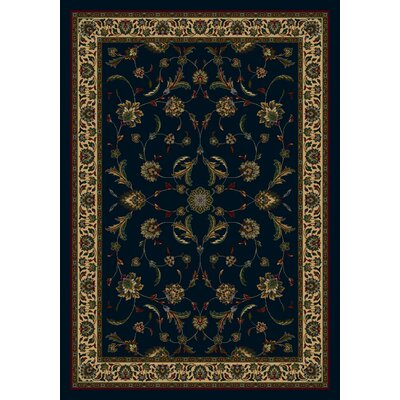 Signature Isfahan Sapphire Area Rug Rug Size: Rectangle 109 x 132