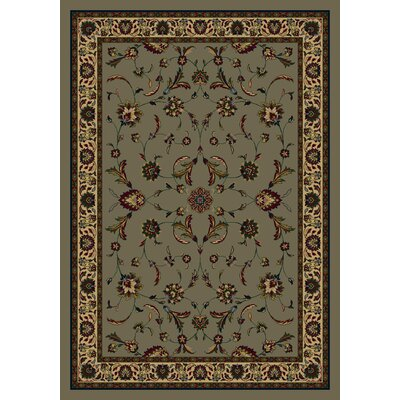 Signature Isfahan Sage Area Rug Rug Size: Rectangle 28 x 310