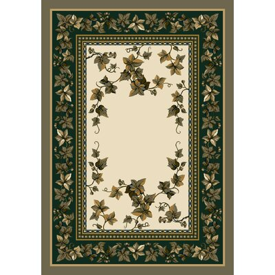 Signature Ivy Valley Opal Area Rug Rug Size: Oval 54 x 78
