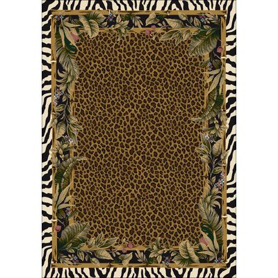 Signature Jungle Safari Skins Area Rug Rug Size: Square 77