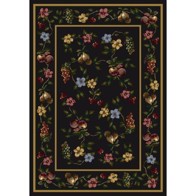 Signature Lorelei Onyx Area Rug Rug Size: Rectangle 78 x 109