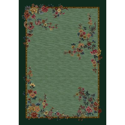 Signature Mindre Peridot Area Rug Rug Size: Rectangle 5'4
