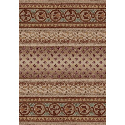 Signature Mohavi Coral Area Rug Rug Size: Rectangle 109 x 132