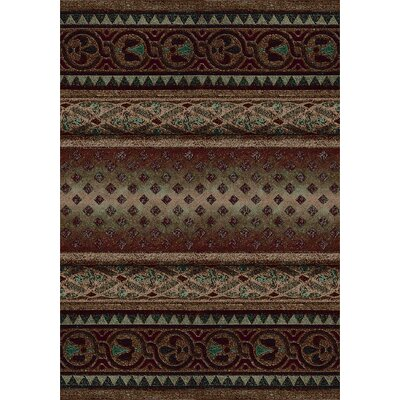 Signature Mohavi Dark Amber Area Rug Rug Size: Rectangle 78 x 109