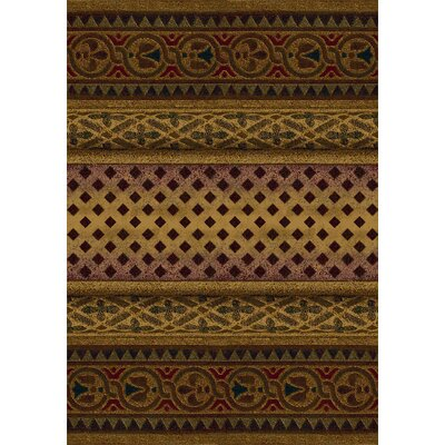 Signature Mohavi Golden Amber Area Rug Rug Size: Rectangle 310 x 54